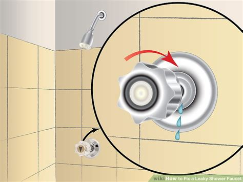 fix  leaky shower faucet  steps  pictures