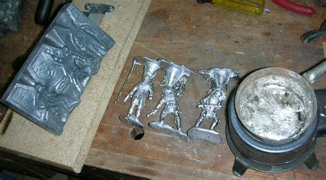 WWII Lead Soldier Casting Set by Rapco   Sam's Toybox