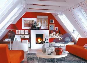 Die Dachschräge Möbel und Farbe für schräge Dächer [SCHÖNER WOHNEN]