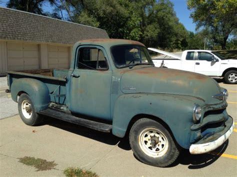 1954 chevy pickup truck 12 volts original no reserve
