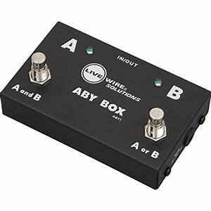 Live Wire Aby1 Guitar Footswitch  U2013 Qwille