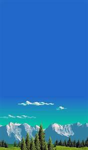pixel landscape | Tumblr
