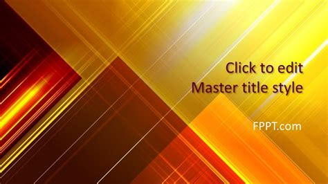 yellow powerpoint template  powerpoint templates