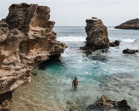 blairgowrie jumping rock incredible turquoise pools