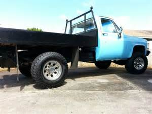 1983 Chevy K10 4x4 Custom Flatbed  K