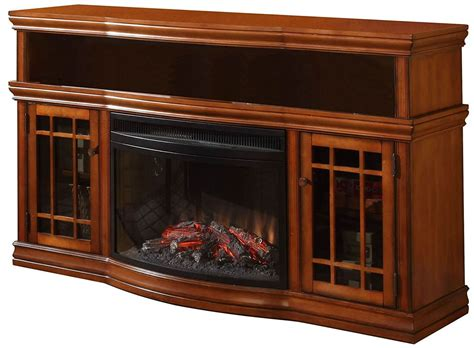 57 Inch Dwyer Tv Stand With Electric Fireplace Small Kitchen Island Design Country Cottage Ideas Shelf Organization White And Oak Cabinets Carts On Wheels Best Islands For Spaces Caninets Base Only