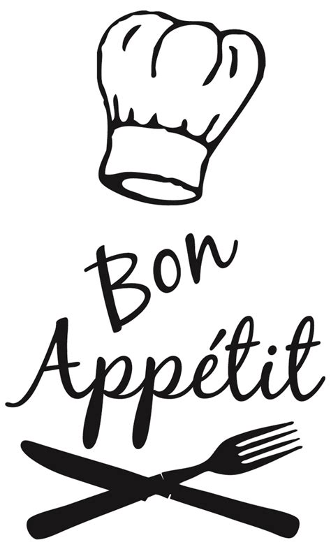 sticker deco cuisine bon appetit chef pixshark com images galleries