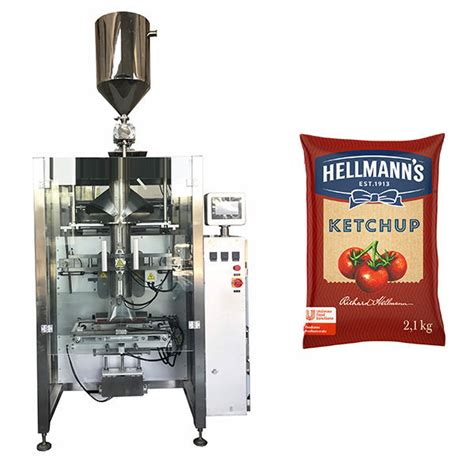 kg ketchup sauces packaging machine iapack