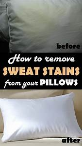 how to remove sweat stains from your pillows cleaning With best pillow for sweating