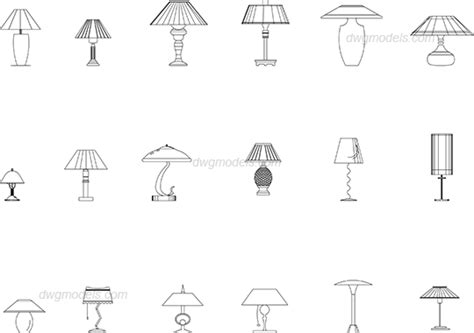 Table Lamps Dwg, Free Cad Blocks Download 30 Inch Length Kitchen Curtains Curtain Side Trailer Height Tension Rod Canada Silk Dupion Fabric Uk Wrought Iron Ends Wire Hooks Wooden Holders Designs Double Rods Bed Bath And Beyond