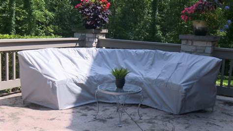 How To Make A Cover For A Curved Patio Set Sewing