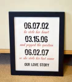 wedding anniversary gift for husband gift for husband 8x10 wedding gifts engagement anniversary gift for he stole