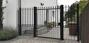 Iron Gates Design Gallery House Gates In Northwood H B Paynter Gates
