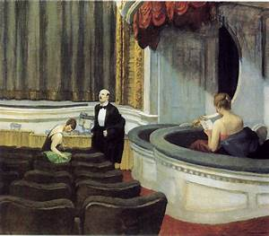 """""""All the world's a stage"""": Edward Hopper's Theatre of ..."""