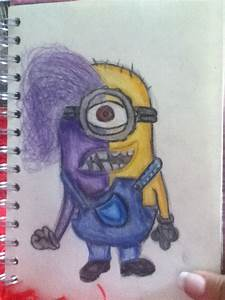 My drawing of despicable me 2 | Draw | Pinterest ...