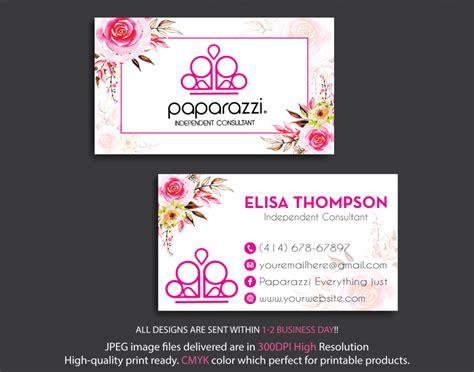 paparazzi business cards personalized paparazzi jewelry