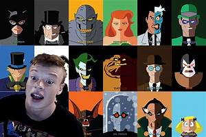 10 Batman The Animated Series Villain Impressions - YouTube