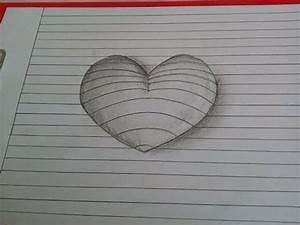 Zeichnungen Mit Bleistift Für Anfänger : 3d herz malen wie zeichnet man ein herz mit bleistift zeichnen lernen f r anf nger youtube ~ Frokenaadalensverden.com Haus und Dekorationen