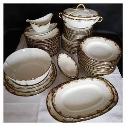 Ancien Limoges Porcelaine Chabrol Poirier