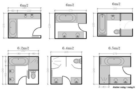 taille minimum chambre les salles de bains de taille moyenne 4 5 6 m