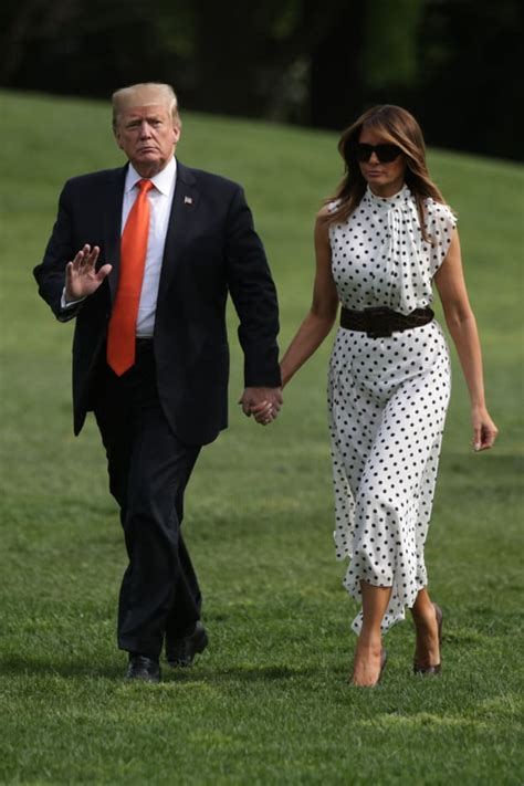 trump melania body donald double another lady did profile strip res