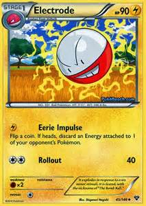 electrode pokemon x and y card review