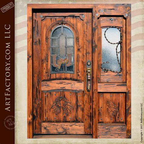 Western Style Cowboy Theme Door   H.J. Nick Original