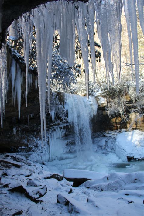 frozen waterfalls  pennsylvania   absolutely
