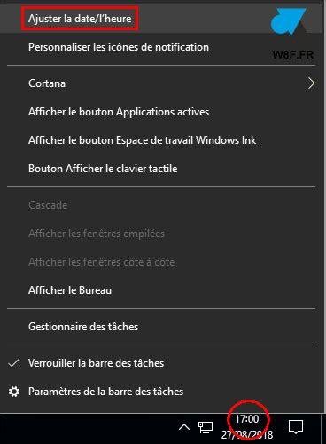 Modification De L Heure by Windows 10 Modifier Date Et Heure De L Ordinateur