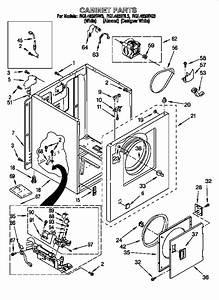 Roper Gas Dryer Parts