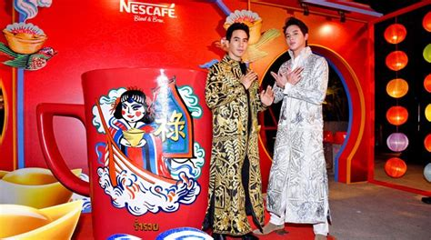 เนสกาแฟ เปิดแคมเปญชงโชครับตรุษจีนสไตล์อินเตอร์แอคทีฟ