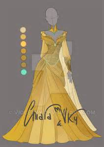 wedding dresses ky adoptable gold auction closed by violetky on deviantart