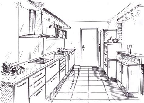 dessiner une cuisine en perspective dessiner une chambre en perspective 7 armoire de