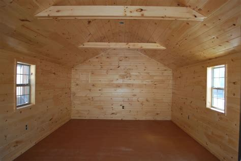 Camping Cabin interior Finish Pennsylvania Maryland and