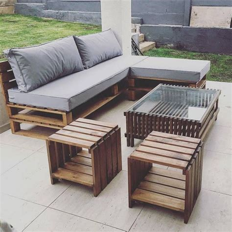 best 25 pallet outdoor furniture ideas on