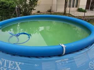 piscine autoportee eau verte With l eau de ma piscine est verte et trouble