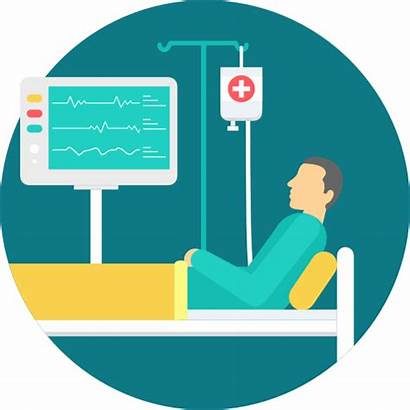 Patient Iot Track Icon Safety Healthcare Staff
