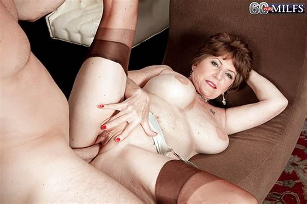 #Busty #Granny #Bea #Cummins #Getting #Assfucked #And #Facialized