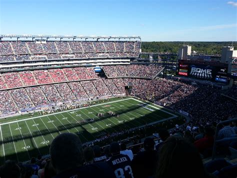 Gillette Stadium Wi-Fi- Allows Social Marketing in the ...