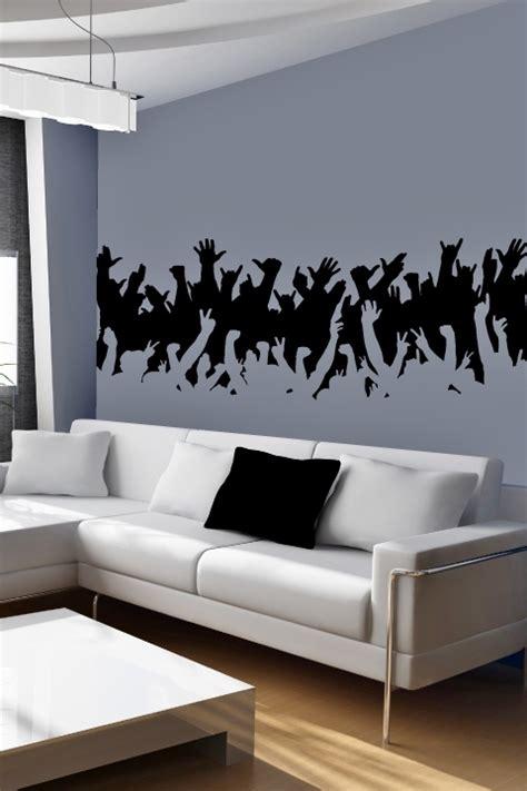 concert crowd wall decal  decals walltat