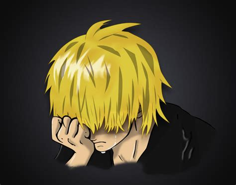 Hd wallpapers and background images Sad Anime Boy (vector) by constantine3112 on DeviantArt