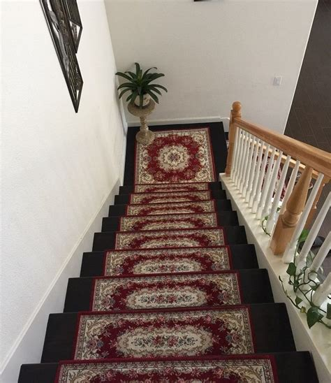 Rugs For Stairs Runners by Acrylic Non Slip Stair Runners Rug Stair Treads Carpet