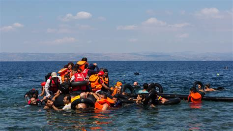 Refugee On Boat by Refugees And Migrants A Crisis Of Solidarity Academic