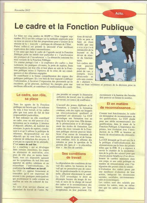 cadre a fonction publique le cadre et la fonction publique ugict cgt