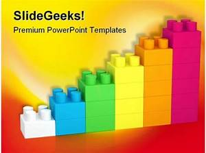 Building Blocks Construction Powerpoint Backgrounds And