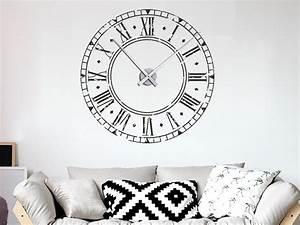 Retro Uhren Wand : wandtattoo vintage uhr wandtattoo wanduhr ~ Whattoseeinmadrid.com Haus und Dekorationen