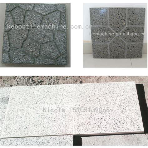 kb125e automatic concrete floor tile machine view