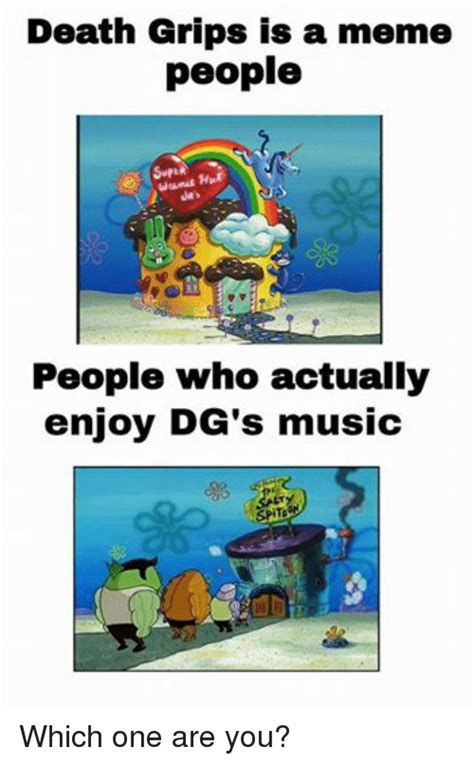 Who Are You People Meme - death grips is a meme people wanie h people who actually enjoy dg s music which one are you