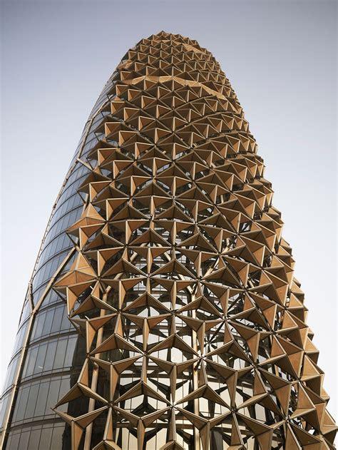 towers  shape shifting sunshades  react