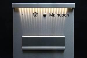 Standbriefkasten Mit Klingel : einzigartiger briefkasten mit klingelanlage ~ Markanthonyermac.com Haus und Dekorationen
